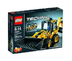 lego technic mini backhoe loader telehandler