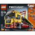 lego technic flatbed truck clean crash