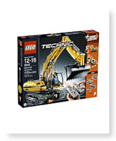 Technic Motorized Excavator 8043