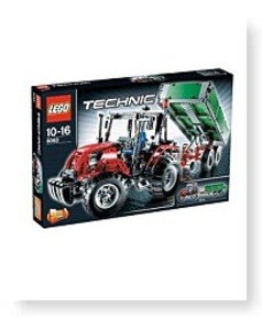 Technic Set 8063 Tractor With Trailer
