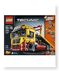 Technic Set 8109 Flatbed Truck