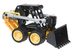lego technic mini loader work it's