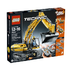 lego technic motorized excavator construction project