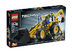 lego technic backhoe loader make light