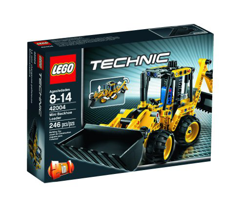 Technic 2 In 1 Mini Backhoe Loader
